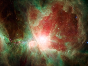 Orion Spitzerlrot photo by NASA
