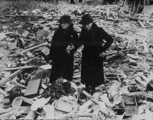 London WWII, Two Women – National Archives, US Government
