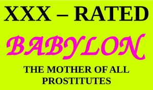 XXX - RATED