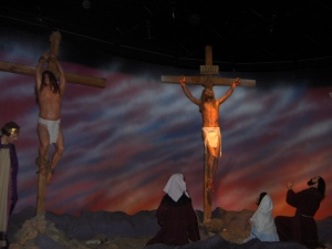 Photo taken in Wax Museum in Grand Prairie, Texas (I would have taken more, but the battery in my camera died)