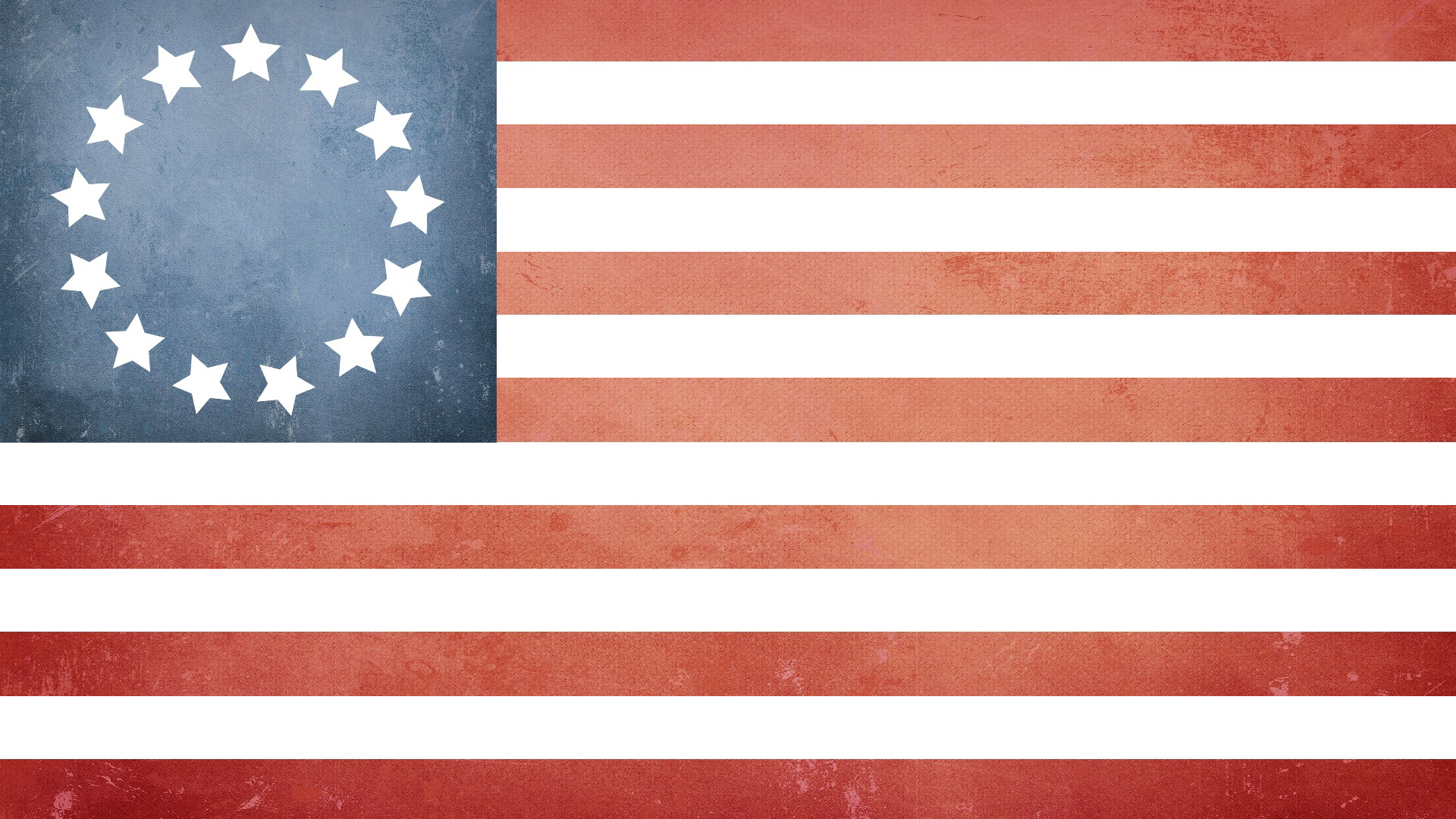 June 2015 my thoughts early american flag with 13 stars for the 13 states publicscrutiny Choice Image