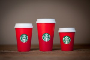 Starbucks Red Cups photo from buzzfeed.com